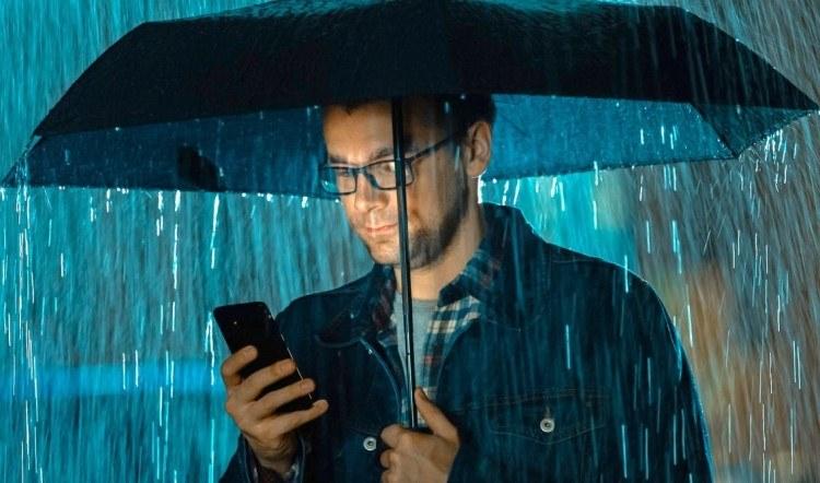 Internet na kiši