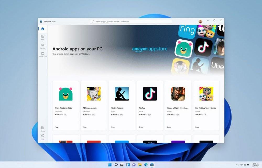 Windows 11 Appstore