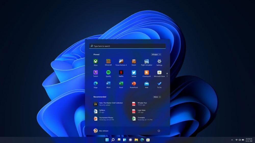 Windows 11 Start Dark